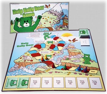 Kelly Bear Board Game Photo